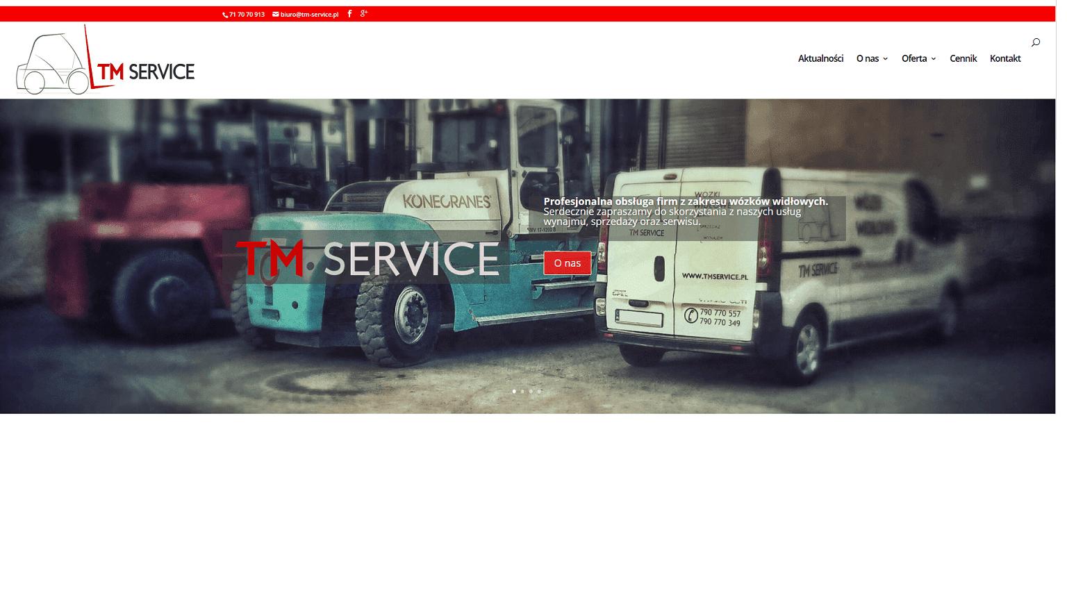 TM Service - Wynajem Wózków Widłowych