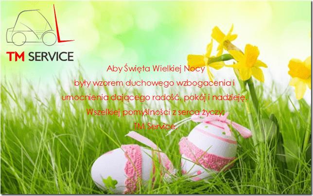 życzenia Wielkanocne od tm service