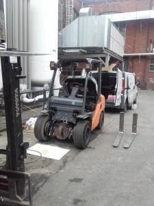 Naprawa wózków widłowych