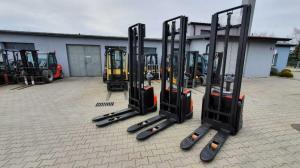 nowe ręczne wózki widłowe